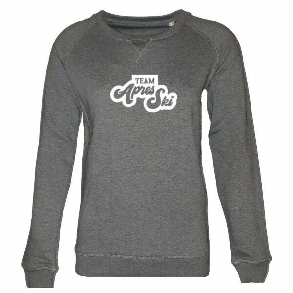 Team apres ski dames sweater grijs – Rustaagh