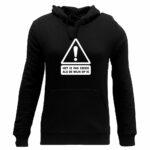 crisis wijn hoodie